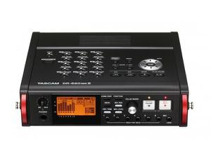 TASCAM DR-680mkII 8-Track Field Recorder with up to 192kHz Resolution