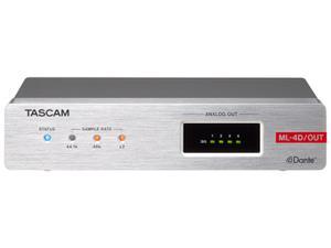 TASCAM ML-4D/OUT-E Line Output Dante Converter with DSP Euroblock