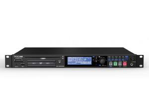 TASCAM SS-CDR250N Single-Rackspace Solid State/CD Recorder