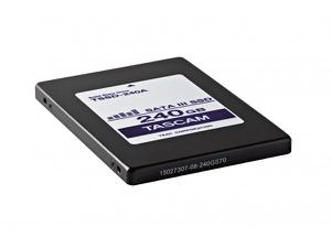 TASCAM TSSD-240A 240GB solid state hard drive for DA-6400