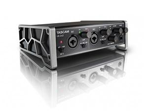 TASCAM US-2x2 USB 2.0 2-In/2-Out Audio/MIDI interface