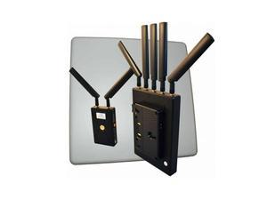 VidOvation VLK-REACHER-3000-AB VidOlink Reacher 3000ft Anton Bauer HD-SDI/HDMI Wireless Extender (Transmitter/Receiver) with High Gain Rx Antenna Kit