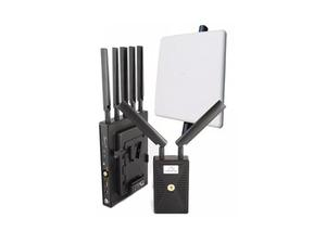 VidOvation VLK-REACHER-3000-VL VidOlink Reacher 3000ft V-Lock HD-SDI/HDMI Wireless Extender (Transmitter/Receiver) with High Gain Rx Antenna Kit