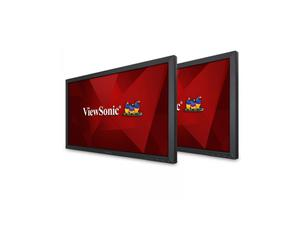 ViewSonic VA2452SM_H2 24 inch (23.6 inch Viewable) Dual Monitor Pack with DisplayPort Technology/6.5ms/DVI/VGA/Speakers