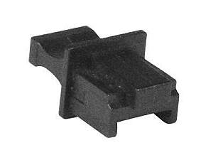 VPI cvr-rj45jck-k1000 RJ45 Female Connector Covers/Black/1000-Pack