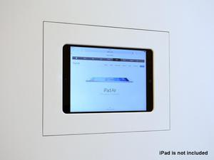 Wall-Smart 10-01-182 In-Wall mount for iPad AIR/PRO 9.7/Hidden/without grills