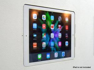 Wall-Smart 10-01-737-WG Invisible In-Wall Mount for iPad 5th gen A1822 and A1823 with Grills