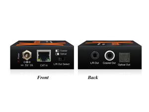 Xantech XT-CAT-ARC-KIT Audio over CAT cable with Built-In DAC Extender (Transmitter/Receiver) Kit